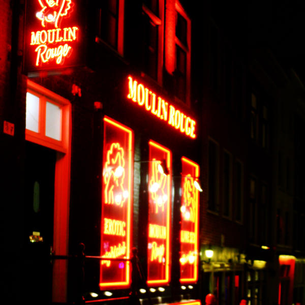 Red lights. In Amsterdam by retr0spect
