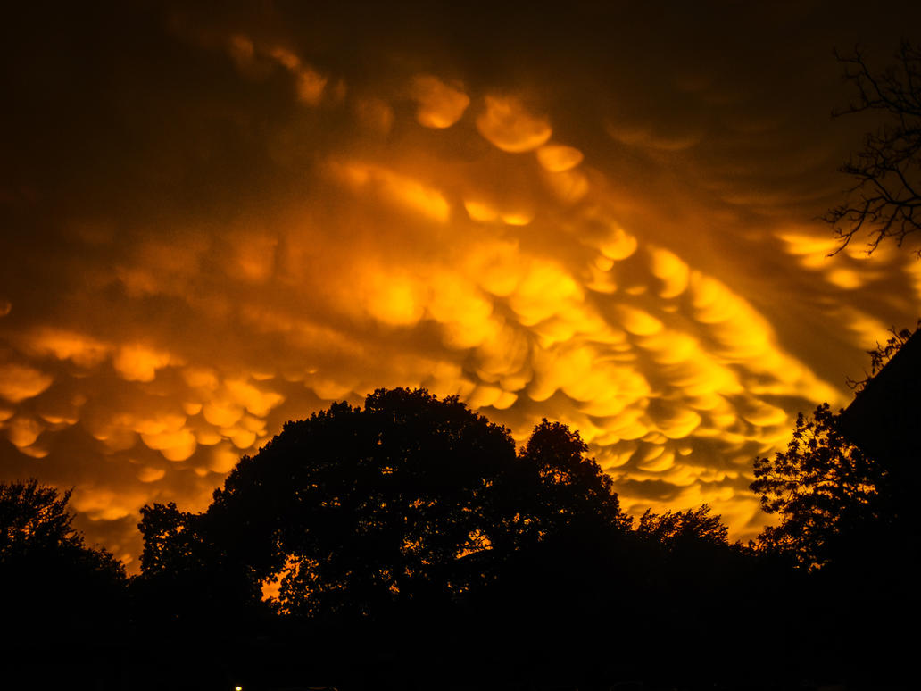 Fiery Sky by mizzspidey