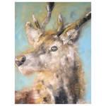 Damian The Deer Oil Painting