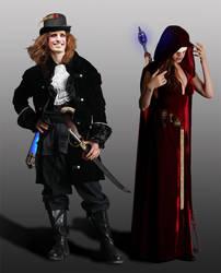 Hanz and Feydra: Rogue Trader