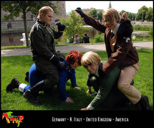 APH-cosplay: FIGHTO by Kumagorochan
