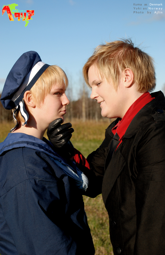 APH-cosplay: Why hello there by Kumagorochan