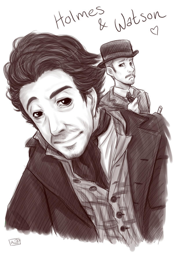 SH - Holmes and Watson by Kumagorochan