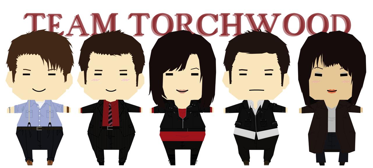Team Torchwood by Kumagorochan