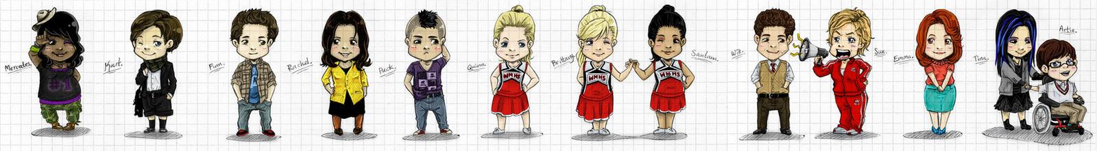 Glee - Gleebis by Kumagorochan