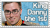 Stamp - Danny The King by Kumagorochan