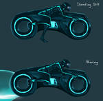 TRON - Flash game character