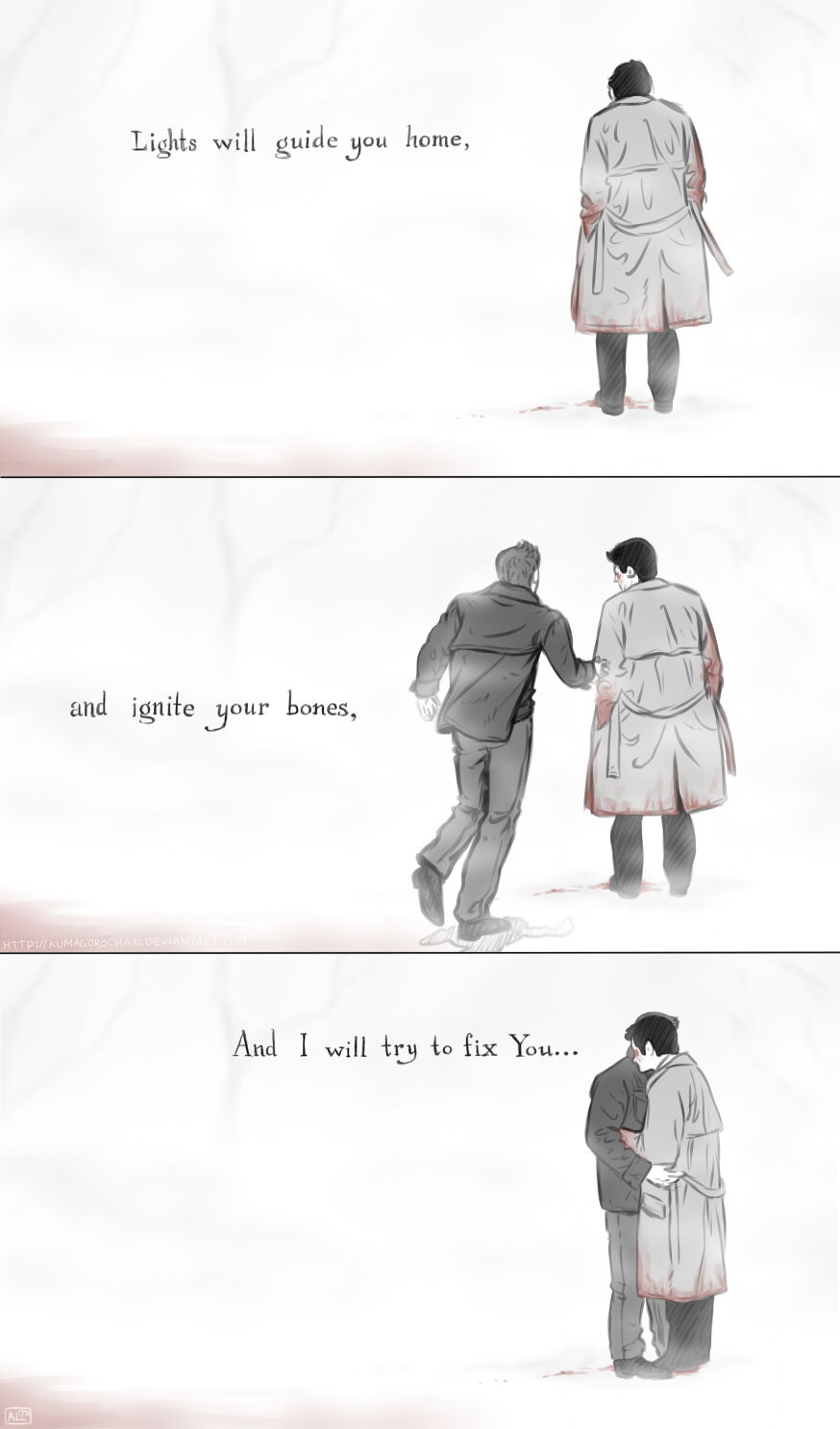 Supernatural - Fix You by Kumagorochan