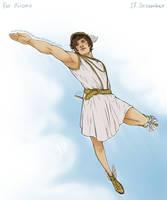 Greek Mythology - December 17 by Kumagorochan