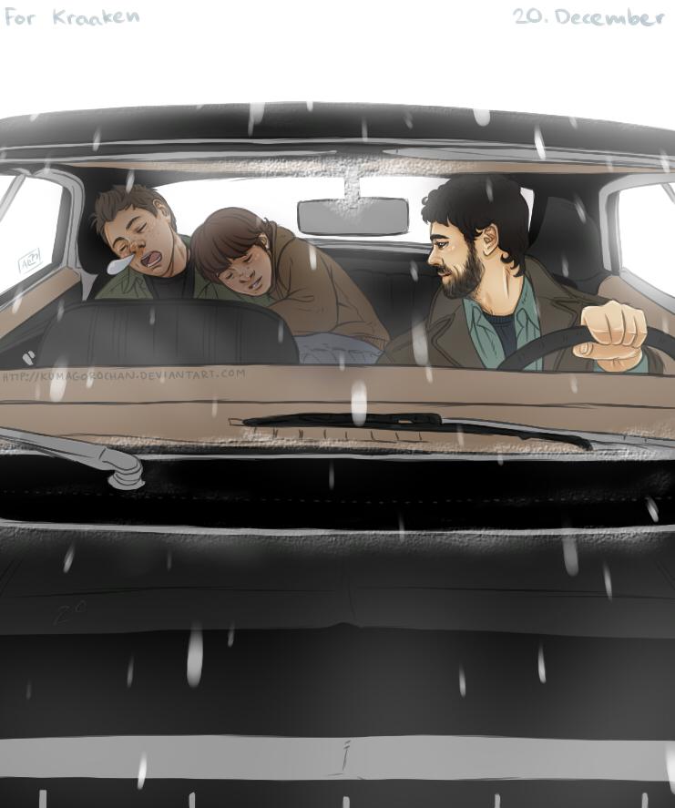Supernatural - December 20 by Kumagorochan