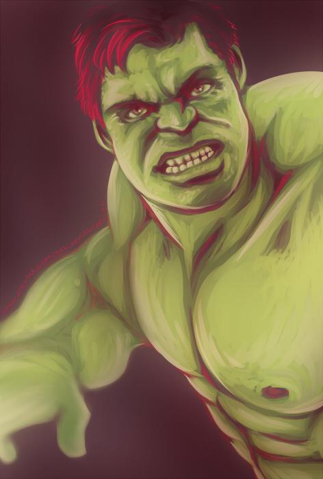Avengers - Hulk by Kumagorochan