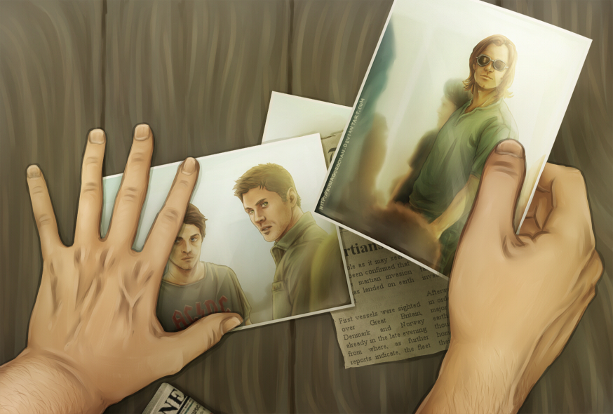 Supernatural: RR - Watching them from the Haven by Kumagorochan