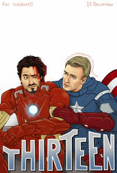 Avengers - THIRTEEN by Kumagorochan