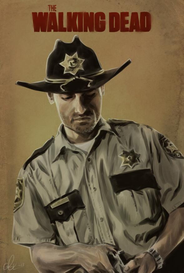 The Walking Dead - Rick Grimes by Kumagorochan