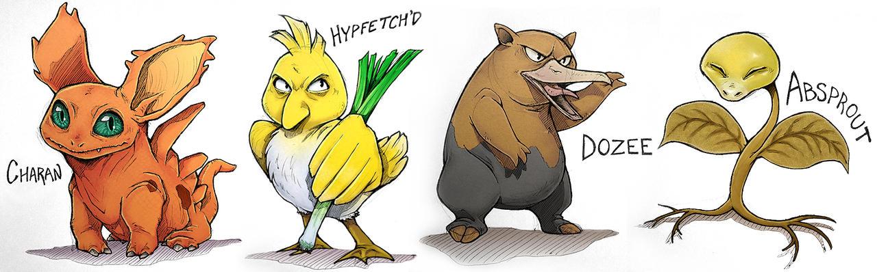Pokemon Fusion Farfecht Images