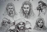 The Hobbit - Doodles