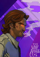 The Wolf Among Us - Bigby Wolf by Kumagorochan