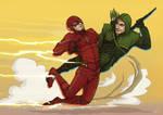 Arrow + The Flash