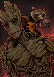 Guardians of the Galaxy - We are Groot