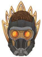 Guardians of the Galaxy - Star-Lord by Kumagorochan