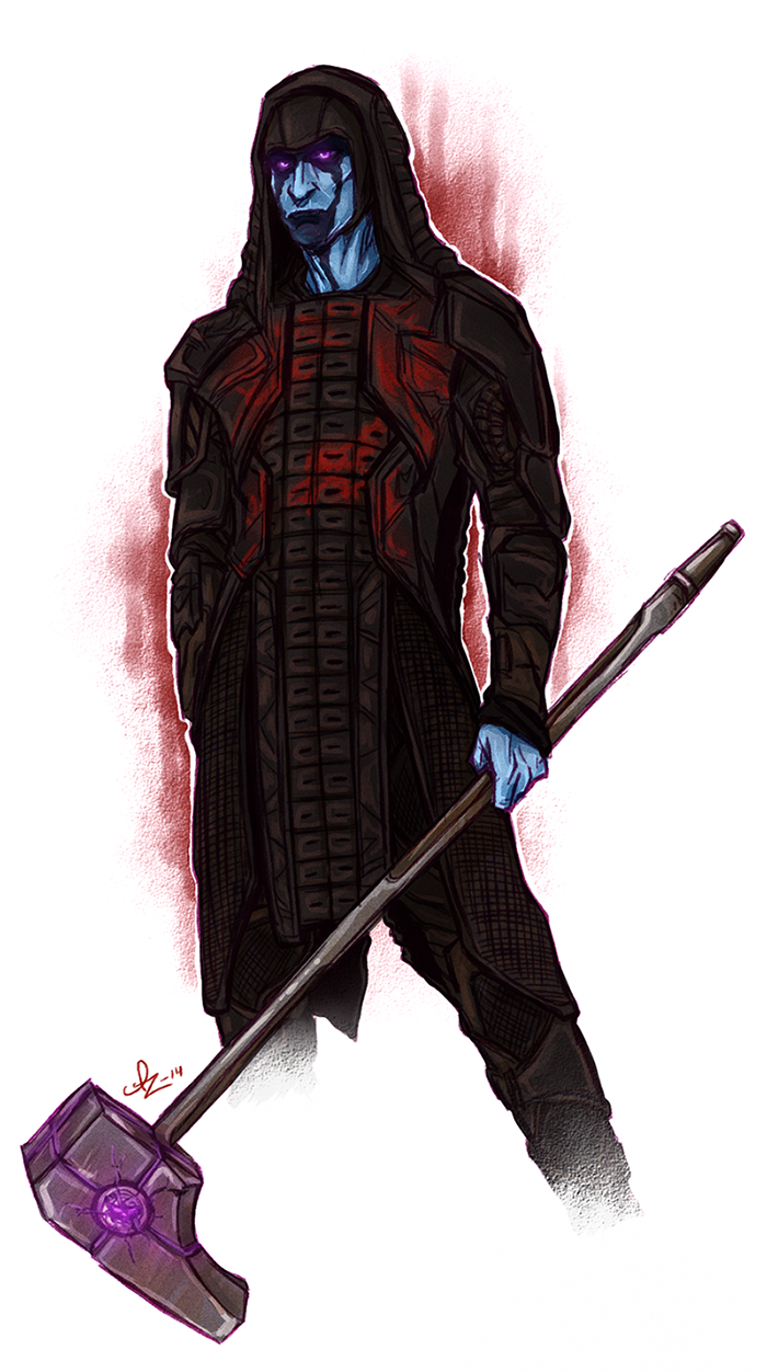 Guardians of the Galaxy - Ronan the Accuser by Kumagorochan