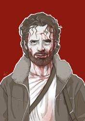 The Walking Dead - Becoming Insane by Kumagorochan