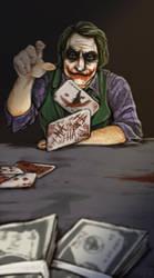 Batman - Poker Night by Kumagorochan