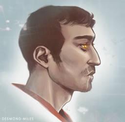 Assassin's Creed - Desmond by Kumagorochan