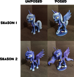 3D Printed Luna Season 1 n 2  Posed n Unposed