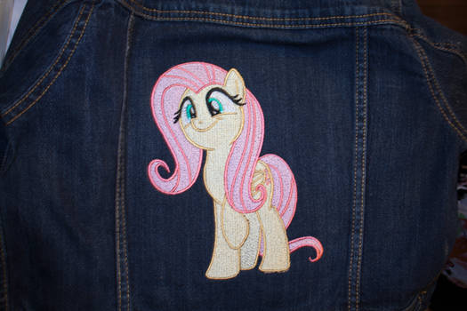Fluttershy Embroidery