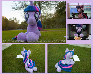Life Sized 36 inch Twilight Sparkle by PlushWaifus