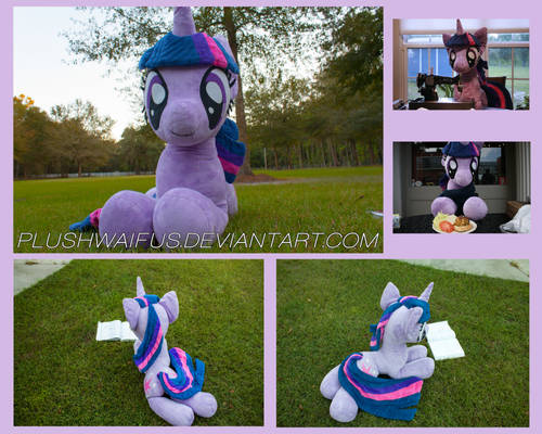 Life Sized 36 inch Twilight Sparkle