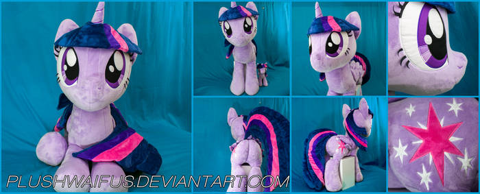 Life Sized 36 inch Alicorn Twilight Sparkle plush