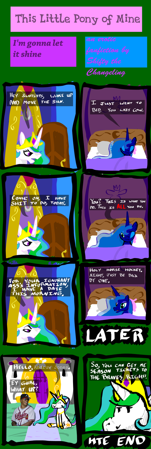 Art7 Comic2 This Little Pony of Mine by ShiftyTheChangeling