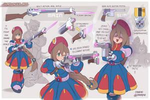 Gunslinger Iris!!
