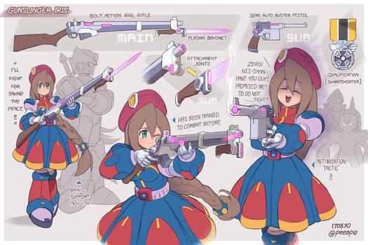 Gunslinger Iris!! by peeape