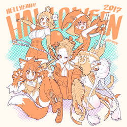HELLYEAH!! HOLLOWEEN2017 by peeape