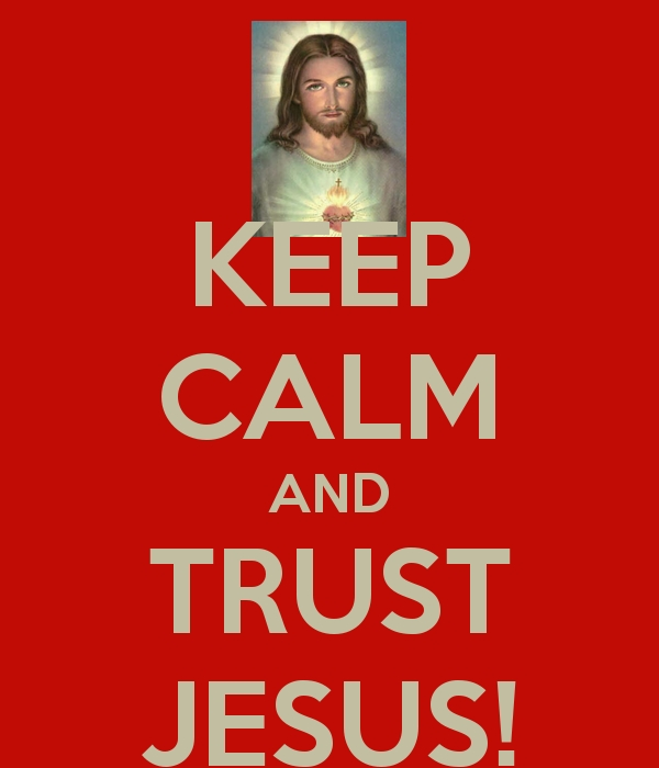 Keep calm and Love Jesus by Amphitrite7