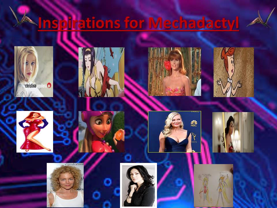 Inspirations for Mechadactyl