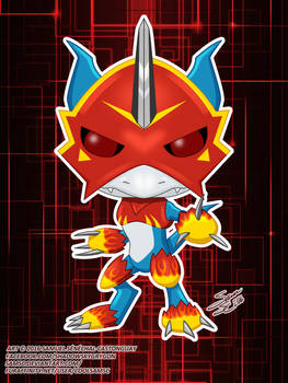 Digimon Flamedramon Funko Pop