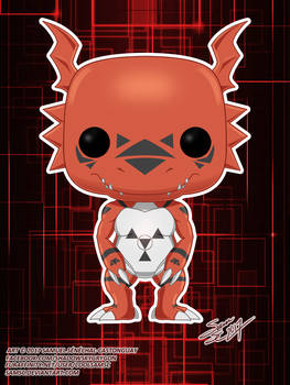 Digimon Guilmon Funko Pop