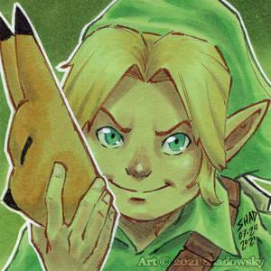 Legend of Zelda Majora's Mask Link