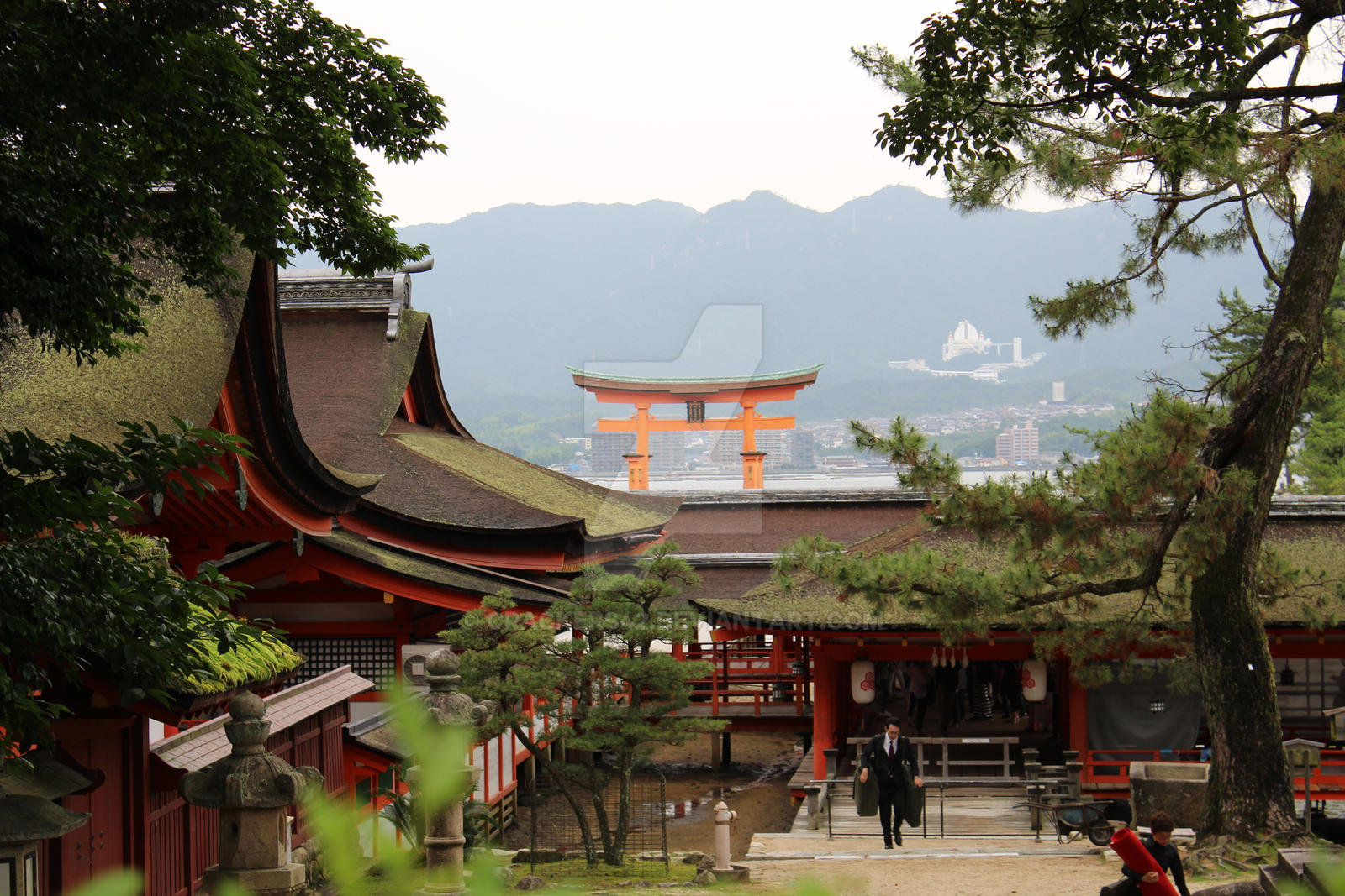 Itsukushima Shrine - Miyajima Island, Japan by Crackers42 on DeviantArt