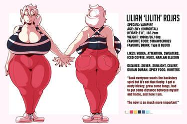 Lilith Ref (11/17/18) by ThaddeusMcBoosh