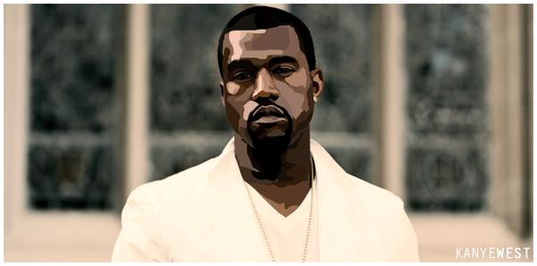 Kanye West by redoner