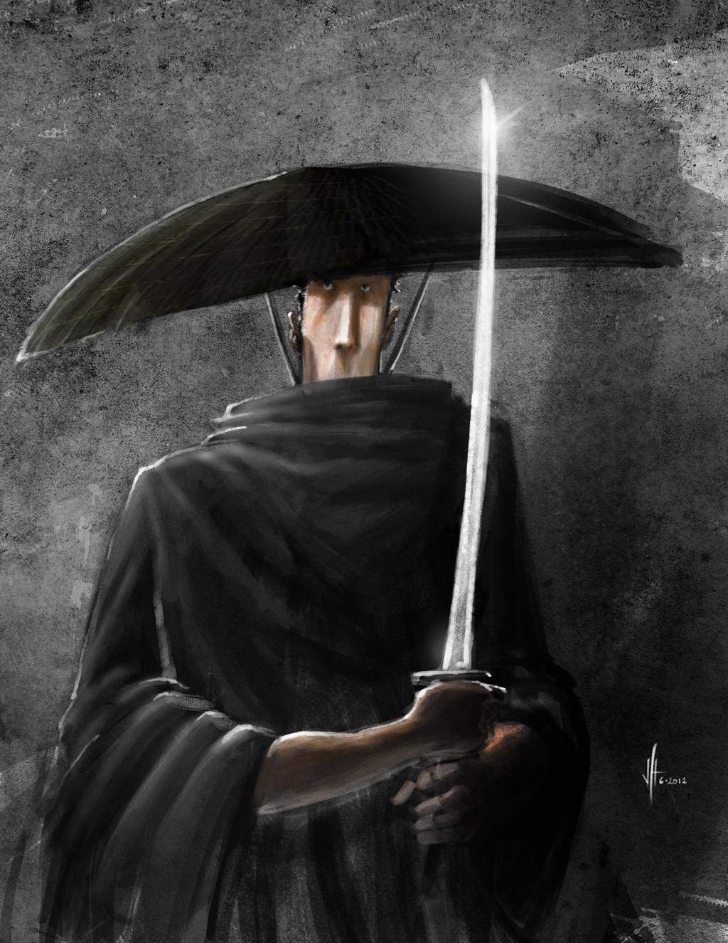 Long Face Samurai by feeesh