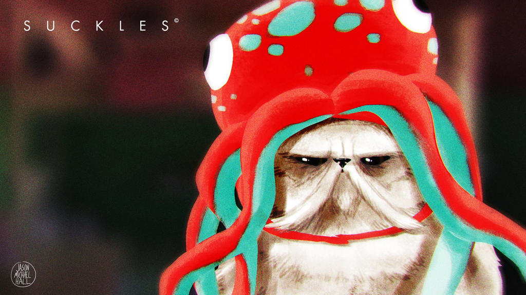 Suckles and the Octohat by feeesh