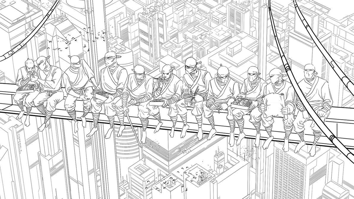 Union Ninjas by feeesh