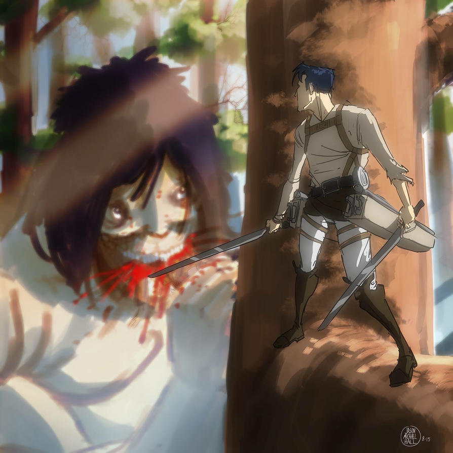 Attack on Titan by feeesh