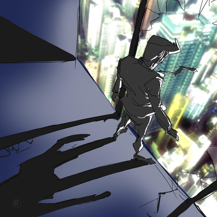 Secret Agent Bob - City Overlook by feeesh